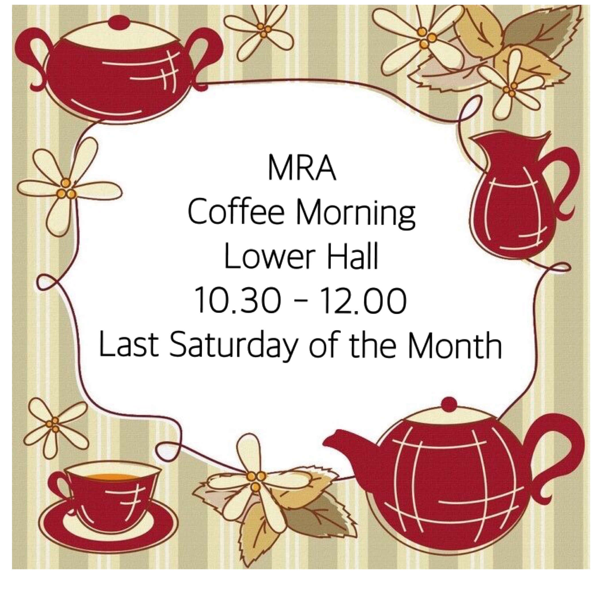 IMG 1627 Coffee Morning Poster