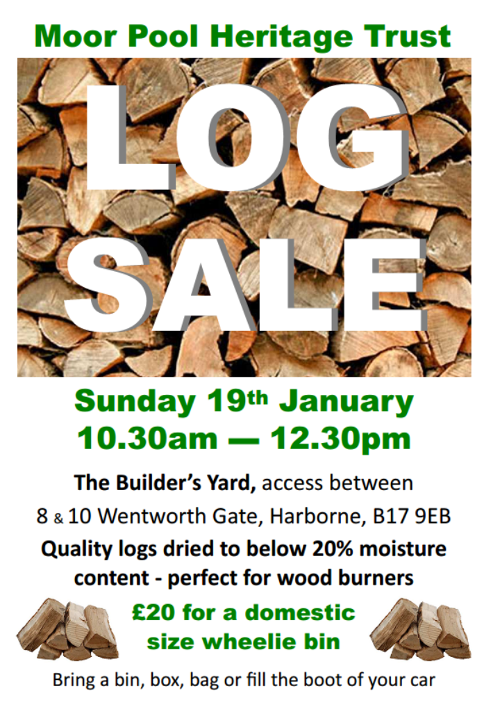 Log Sale Poster Copy